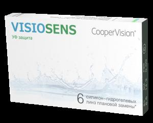 Контактные линзы VISIOSENS 6 шт.